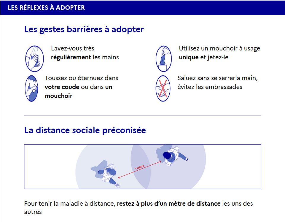 gestes barriere